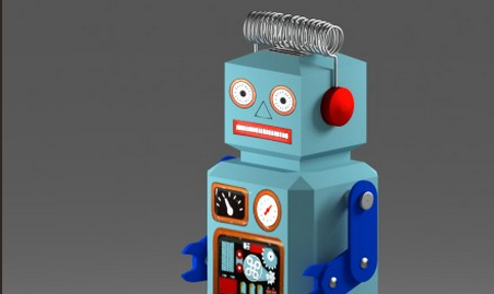 RadarRobot by rgrimble on Blendswap